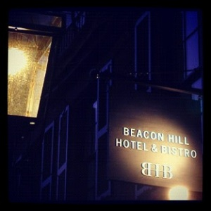 Whether you're here for an evening out, or looking for a place to dine with for breakfast or lunch, Beacon Hill Hotel & Bistro will become a fast favorite.