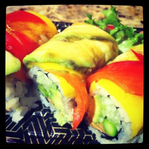 Fancy Vegetable Roll - $6.95