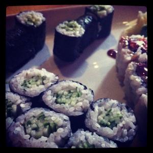 Vegetarian Maki Combo - $11.50