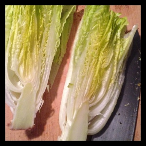 Grilling your greens gives them a rich, smoky depth. Try endive or radicchio for a slightly more bitter profile.